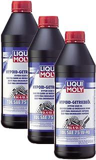 3x LIQUI MOLY 1407 Hypoid Getriebeöl TDL SAE 75W 90 1L