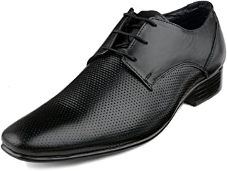Escaro Everyday Wear Men's Leather Formal Lace Up Dress Shoes