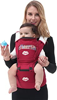 ISEE All Seasons 360° Ergonomic Baby & Child Carrier with Hip Seat, Carriers Front and Back Adjustable Newborn to Toddler