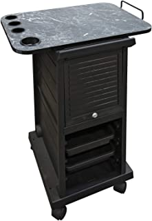 KD Locking Trolley with Laminated Topper JLS-100XTY