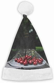 Cherries Cherry Dish Motion Blur Funny Party Hats Santa Hats - Christmas Novelty Hats
