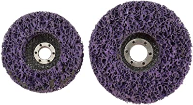 Andoer 2PCS Grit Wood Metal Paint Rust Removal Clean Tools For Angle Grinder Wheel Abrasive Disc