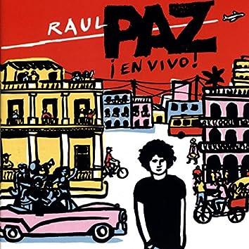 Raul Paz: En Vivo!