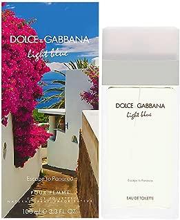 Dolce and Gabbana Light Blue Escape to Panarea Eau De Toilettes Spray for Women, 3.3 Ounce