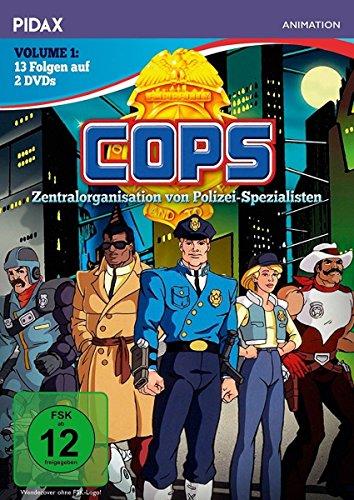 C.O.P.S., Vol. 1 / Die ersten 13 Folgen der erfolgreichen Serie (Pidax Animation) [2 DVDs]