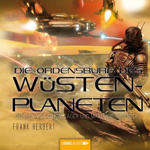 Die Ordensburg des Wüstenplaneten (Dune 6) Titelbild