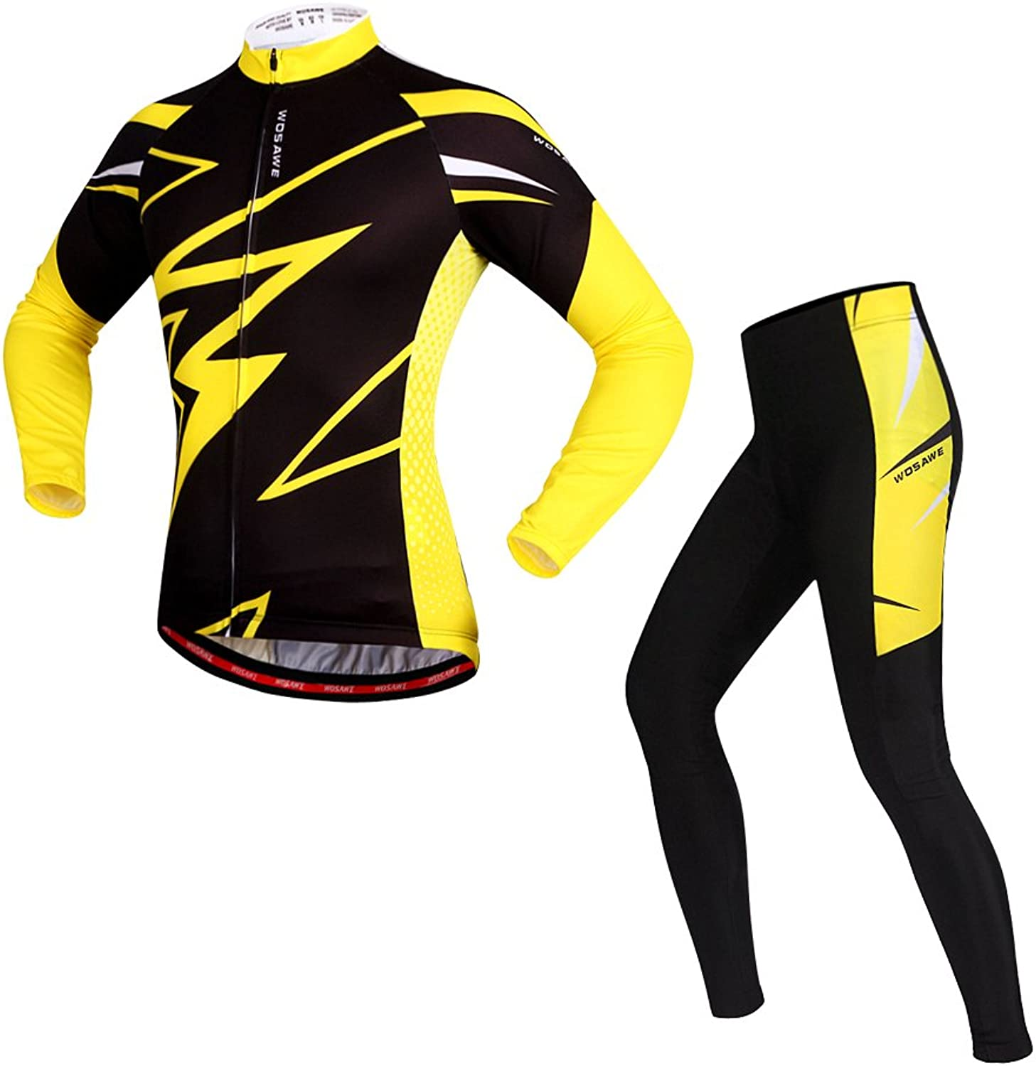 Long Sleeve Cycling Jersey Suits Breathable 3D Pad Sportswear Mountain Bicycle Bike Cycling Clothing Sets Hygroscopic