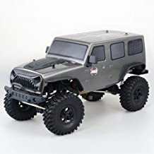 KRCT 1:10 Scale Large Remote Control Professional RC Auto Model Alloy Body Anti-Fall Outdoor Off Road Monster Truck 2.4Ghz Wireless Remote Control High Speed RC Racing Vehicle with LED Headlight