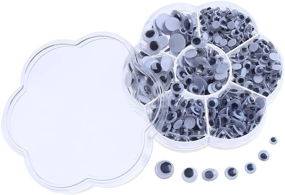DECORA 800 Pieces Wiggle Googly Eyes Surprise price Brand new Scra DIY Self-adhesive with