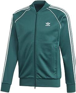 adidas Originals Men's Tartan Zip Track Jacket
