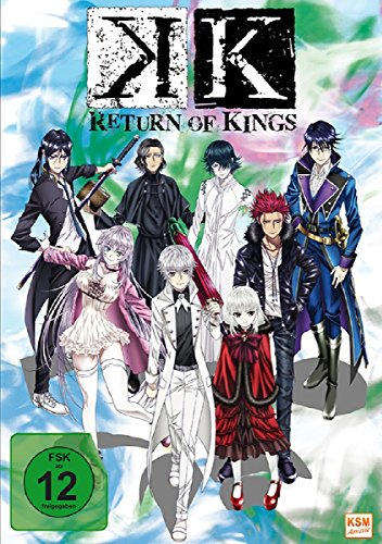 K - Return of Kings - Staffel 2.1: Episode 01-05 im Sammelschuber
