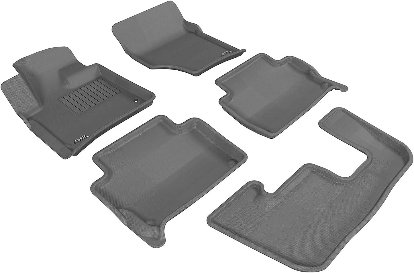 Motors Floor Mats 3D MAXpider All-Weather Floor Mats for Audi Q7 ...