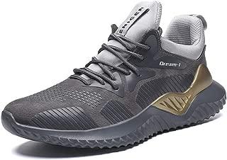 YSNJL Mens Running Shoes Sneakers Lightweight Athletic Walking Sport Mens Cross Training Shoe for Men