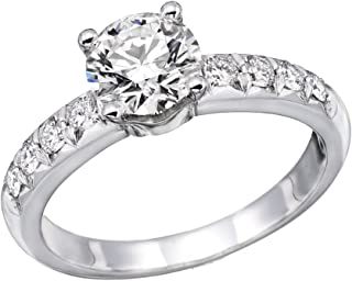Engagement Rings - White Gold