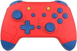 Yinhai Controladores De Interruptor, Controlador Inalámbrico Pro para Nintendo Switch/Nintendo Switch Lite - Gamepad Joypad Compatible con Gyro Axis, Turbo Y Dual Vibration,Red+Blue