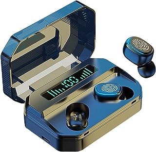 B Blesiya Trådlösa öronsnäckor, Bluetooth 5.2 hörlurar automatisk parning Bluetooth-hörlurar TWS stereo HiFi-hörlurar för ...
