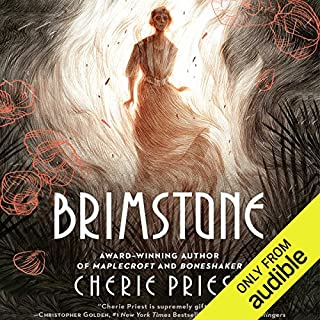 Brimstone audiobook cover art