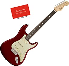 Fender American Original 60s Stratocaster Candy Red Guitar Bundle w/Fender Play
