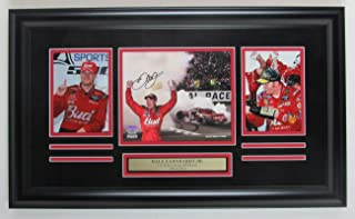Dale Earnhardt Jr. NASCAR Signed 11x14 Photo Collage Framed Fanatics 146946