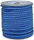 Corderie Italiane 006005094 Treccia Elastica, Azzurra, 8 mm, 50 m