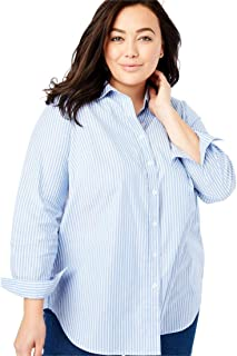 ff4a394b5f1870 Amazon.com  Plus Size - Blouses   Button-Down Shirts   Tops