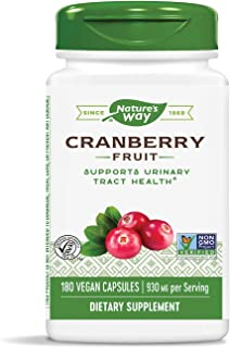 Sponsored Ad - Nature's Way Premium Herbal Cranberry Fruit, 930 mg per serving, 180 Capsules