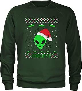 Aliens I Believe in Area 51 Crewneck Sweatshirt