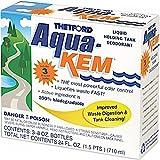 Thetford Aqua-KEM Original - Holding Tank Treatment - Deodorizer - Waste Digester - Cleaner - 3x8oz Pack 15483
