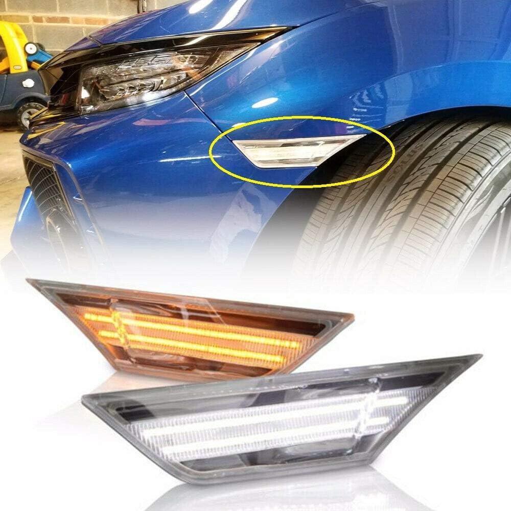 Clear Lens Full Led Side Marker Se Civic 2016-up for Honda Sale SALE% OFF Credence Light