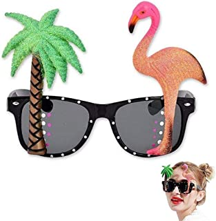 Flamingo Sun Glasses Birthday Costume Party Decorations Kids Photo Booth Props Festive Party Supplies Accessories