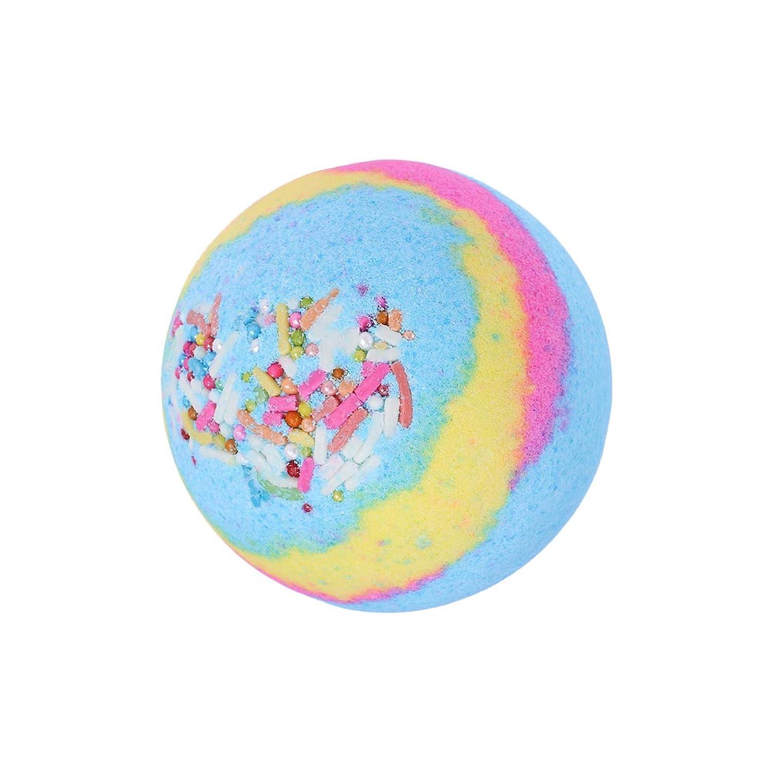 トリプル自伝プラカードLurrose 1ピース100グラム入浴剤ボールフレグランスは女性のためのエッセンシャルオイルバス爆弾を保湿(海洋多色)