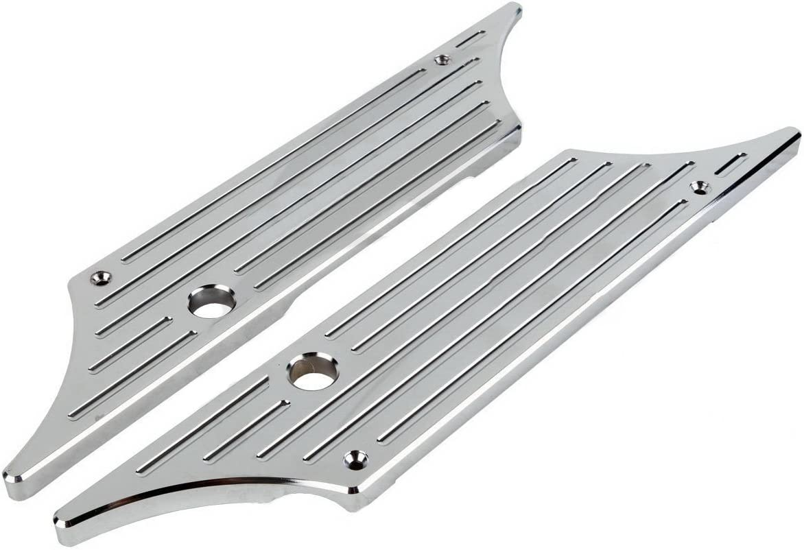 Chrome Billet Hard Saddlebag Latch For Max Miami Mall 50% OFF Face Touring Cover Harley