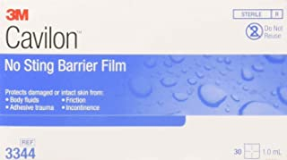 Cavilon No Sting Barrier Film, Wipe, No Alcohol, Sterile, Box of 25