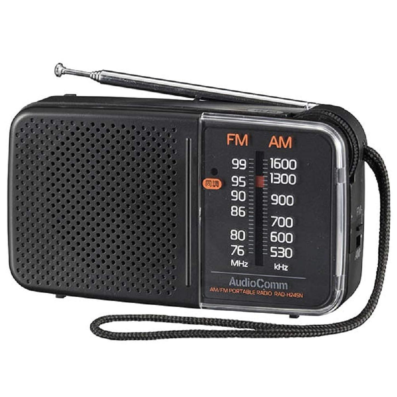 リスナー昼食後継スタミナハンディラジオ RAD-H245N