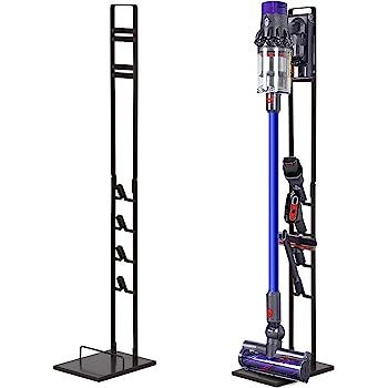 Tolhoom Storage Stand Dock Dockings Station for Dyson V11 V10 V8 V7 V6 Cordless Stick Vacuum Cleaner, Stable Metal Storage Bracket Organizer Rack