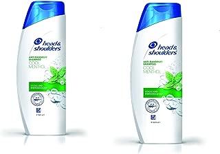 Head & Shoulders Anti Dandruff Cool Menthol Shampoo (170ml) (Pack of 2)