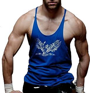 Alivebody Men Gym Sleeveless Shirt Tank Top T-Shirt Bodybuilding Sport Vest