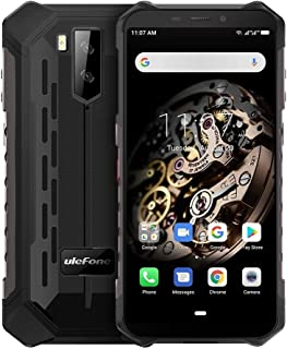 Mobile Phones Armor X5 Rugged Phone, 3GB+32GB, IP68/IP69K Waterproof Dustproof Shockproof, Dual Back Cameras, Face Identification, 5000mAh Battery, 5.5 inch Android 9.0 MTK6763 Octa Core 64-bit up to