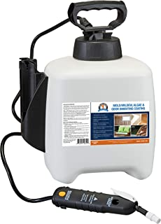 One Shot BGMI-1F96 Mold, Mildew, Algae, and Fungus Prevention with Pump Sprayer, 96 oz (3 Quarts)