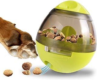 Zellar Dispenser De Premios Juguete para Perros - Pelota para Premios de Perros/Dispenser de Comida/Juguetes Interactivos/Pelota de Premios para Perros y Gatos Pequeños y Medianos (Verde)