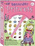 Blockflötenset Prinzessin inklusive Instrument/Notenbuch/Aufkleber (Recorder Packs)