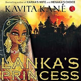 Lanka's Princess audiobook cover art