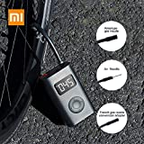 gooplayer for Xiaomi Air Pump Portable Mijia Mi Electric Pump Portable Electric Air Compressor Smart Portable Digital Tire Pressure Detection Electric Inflator Pump for Bike/Motorcycle/Car/Football