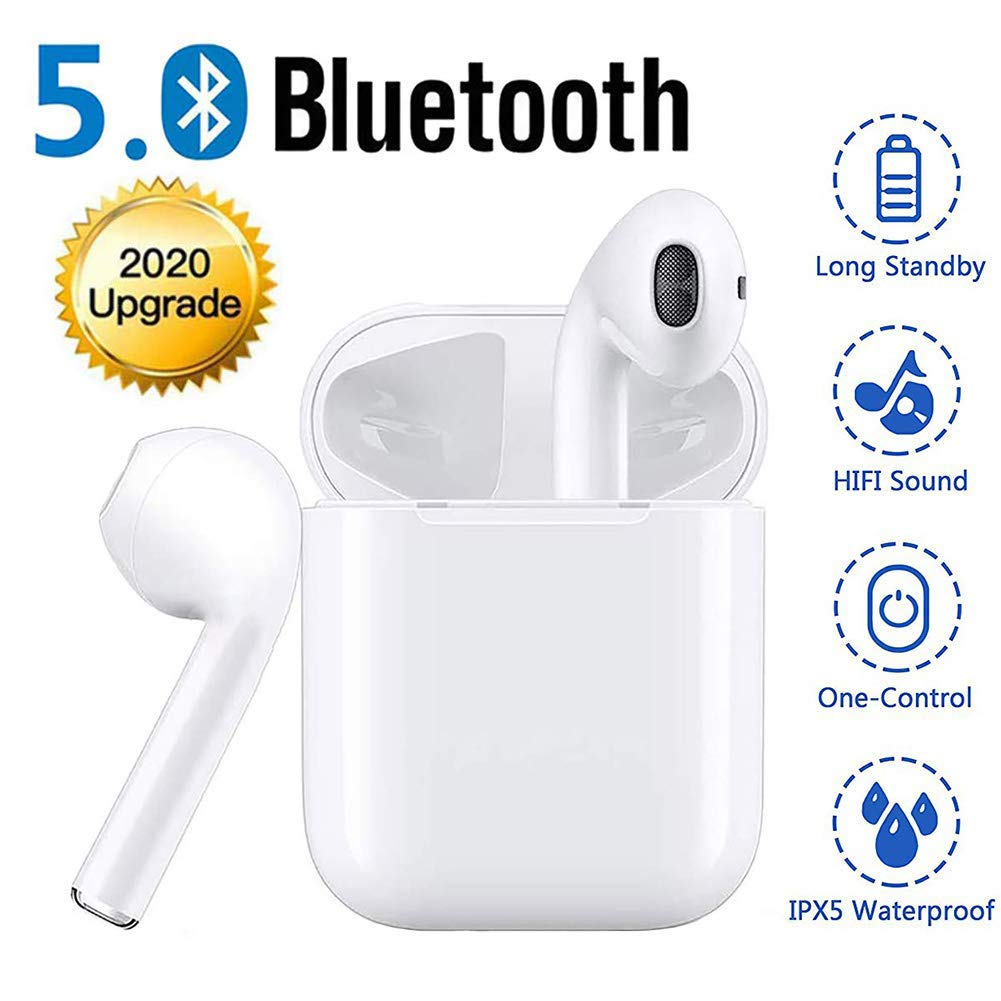 Wireless Headphones Running True Wireless Earbuds 5 0 Wireless Bluetooth Earphones 30h Cycle Playtime One Step Pairing Bluetooth Earbuds With Mic Sport Headsets For Android Airpods Samsung Buy Online In India Missing Category Value