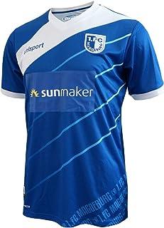 uhlsport 1.FC Magdeburg Home Jersey 18/19 blau FCM Trikot 2.Bundesliga Fanartikel
