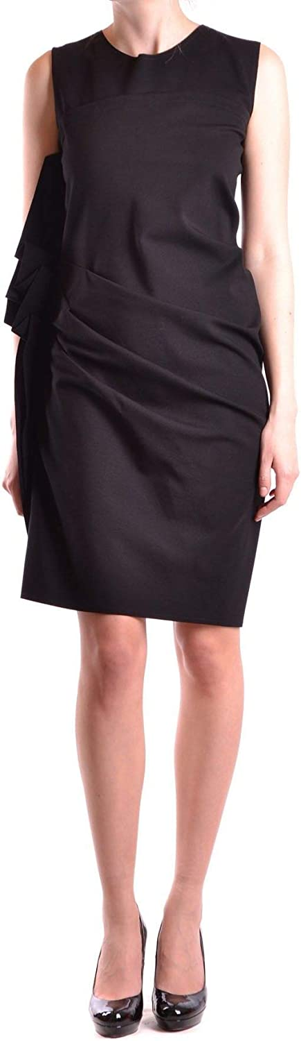 Dexterior Women's MCBI17881 Black Viscose Dress