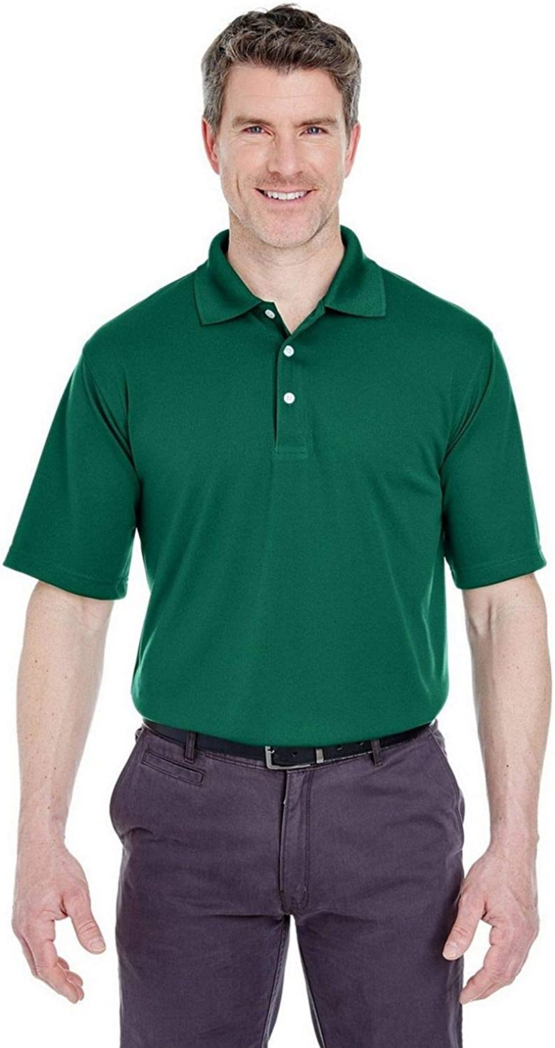 8445 UltraClub Adult CoolNDry TM Stain Release Performance Polo