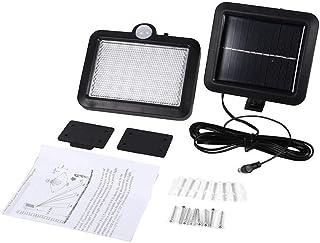 ZKS-KS Motion Sensor Light, Waterproof Motion Detector Sensor 56 LED Solar Powered Light Outdoor Garden Lamp Wall Mounted ...