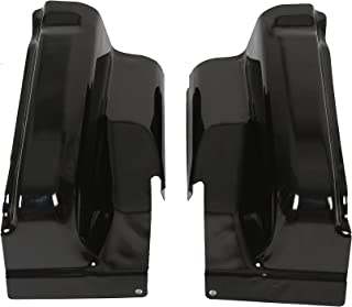 Pickup Truck Cab Corners Set Pair for 2004-2008 Ford F-150 4Door Crew Cab