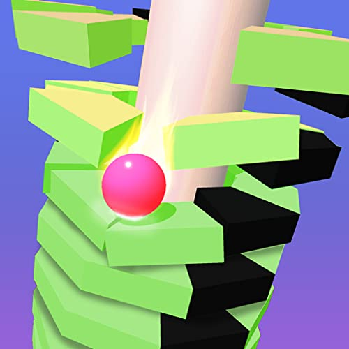 Helix Stack Ball-Spiele: Jump Bouncing Balls 3D